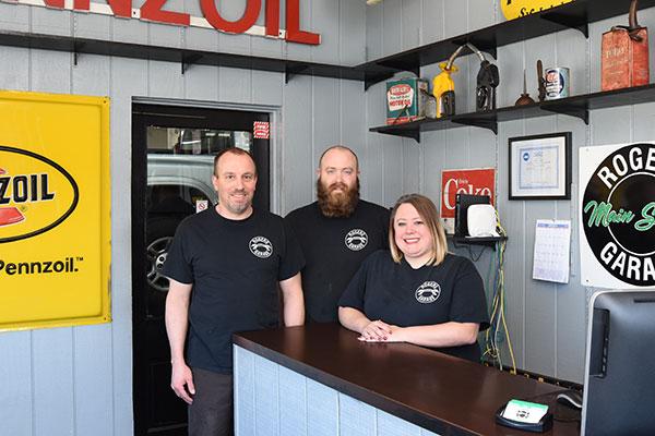 Rogers Garage - staff photo