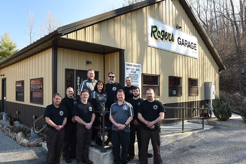 Rogers Garage Team