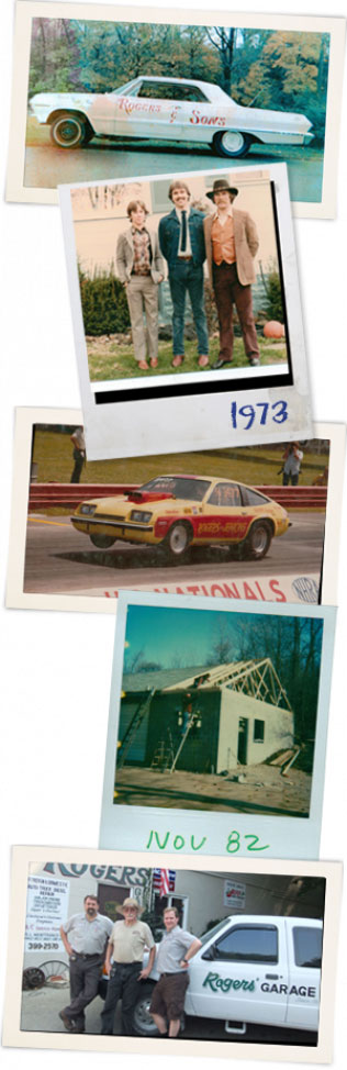 Rogers Garage - historical photos